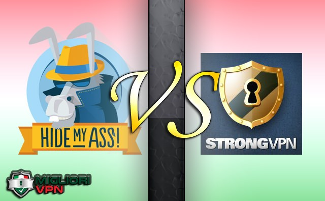 Hidemyass VS Strong VPN confronto