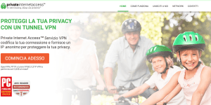 Private Internet Access connessione VPN lista server proxy