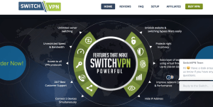 Switch VPN server proxy e connessioni VPN