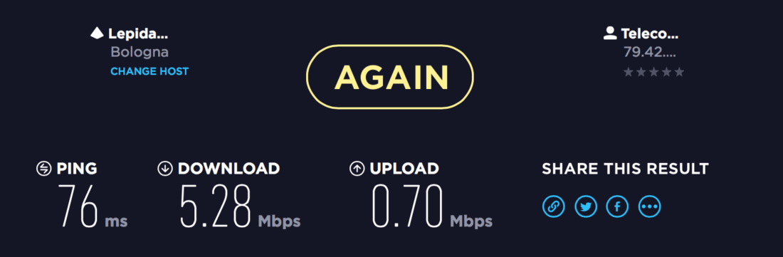 VPN ExpressVPN Speed Test