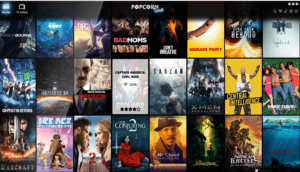 Popcorn Time Online Home Page