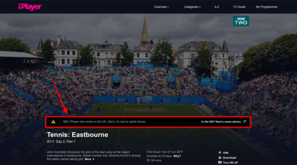 Wimbledon streaming gratis su BBC iPlayer