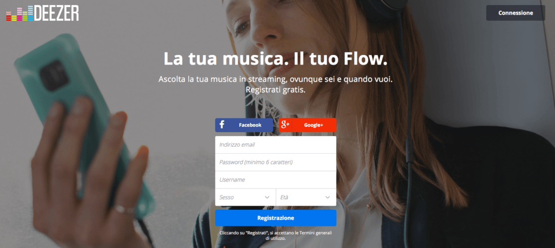 Deezer Login