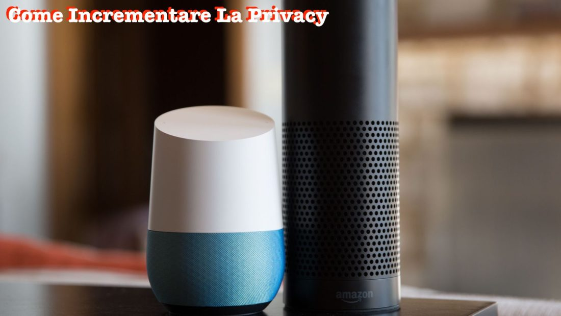 Privacy Amazon Echo e Google Home