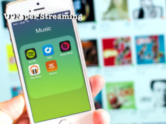 VPN per streaming musica