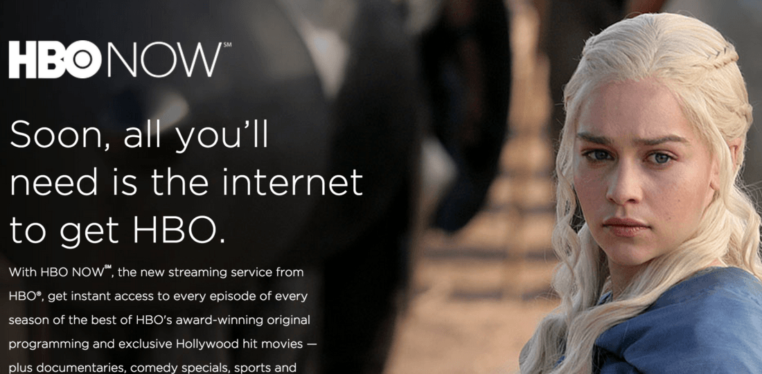 HBO Now Streaming Trono Di Spade, Game Of Thrones Gratis