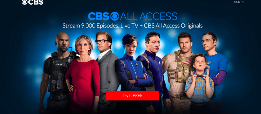 CBS Streaming, CBS VPN