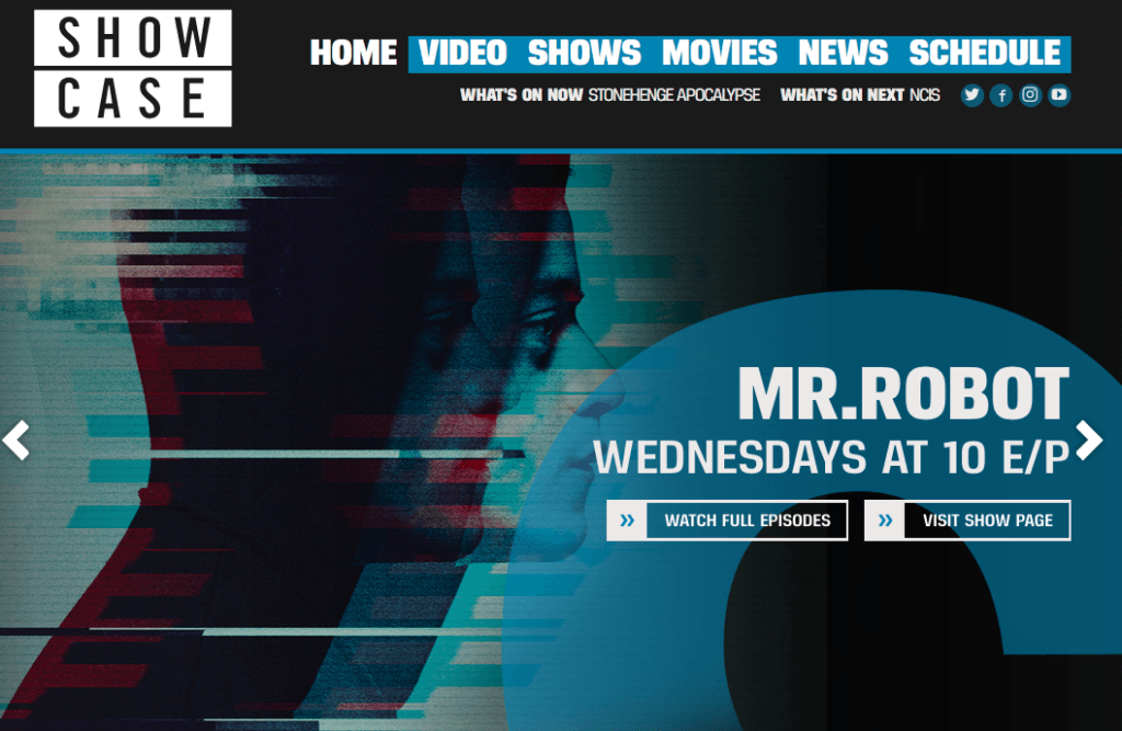 Mr. Robot Showcase, Showcase Streaming
