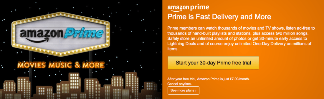 Amazon Prime UK Streaming