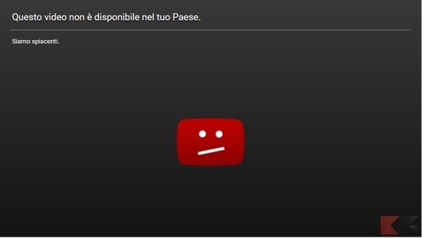 Video Blocco YouTube